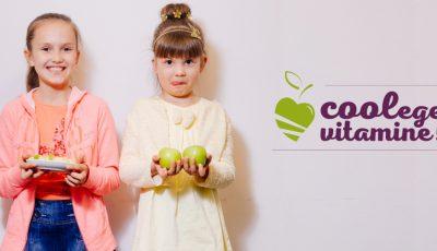 """Susţine campania de promovare a gustărilor de mere """"Coolege vitamine""""!"""