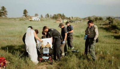 Ședința foto pentru nuntă s-a sfârșit în mod șocant. Ziua pe care mirii nu o vor uita