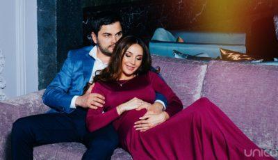 Cristina Moldovanu a devenit pentru prima dată mamă