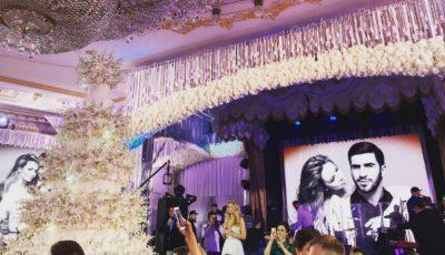 Nunta unui fiu de oligarh: Vera Brejneva tamada, Timati şi Pugaciova au cântat live!
