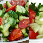 Foto: De ce să nu mănânci salata de roşii, combinată cu castraveţi