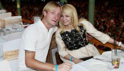 Evgeni Plushenko și-a arătat pentru prima dată fiul din prima căsătorie!