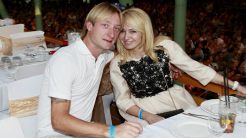 Foto: Evgeni Plushenko și-a arătat pentru prima dată fiul din prima căsătorie!