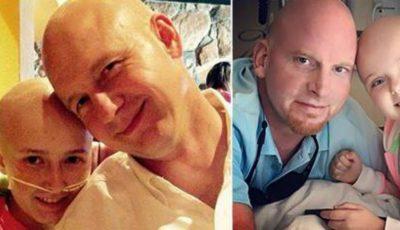 Gestul emoţionant făcut de un tată pentru fiul său bolnav de cancer te va lăsa fără cuvinte!