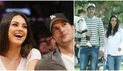 Ashton Kutcher şi Mila Kunis aşteaptă al doilea copil!