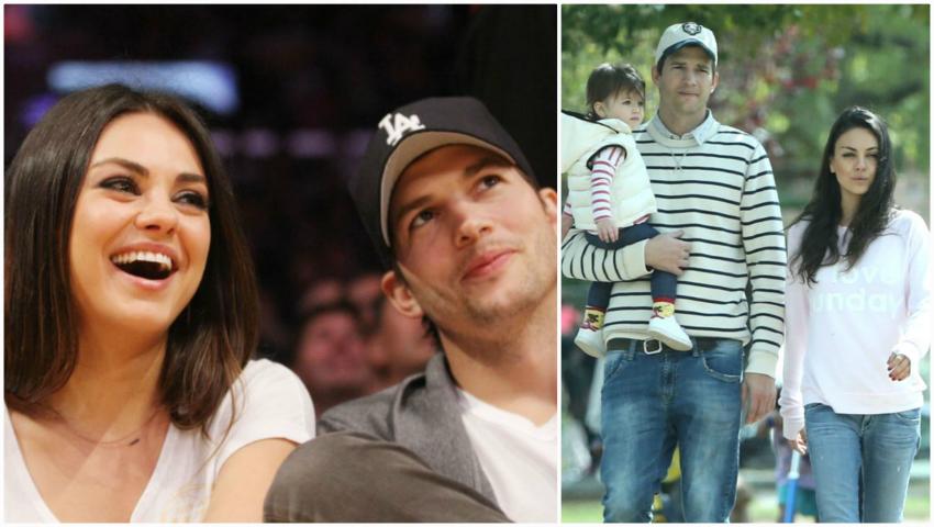 Foto: Ashton Kutcher şi Mila Kunis aşteaptă al doilea copil!