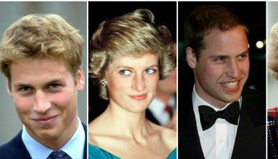 19 poze în care Prinţul William aminteşte de mama sa!