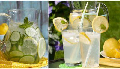 Scapă rapid de balonare cu această băutură răcoritoare de vară!
