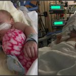 Foto: A postat poze cu fetiţa ei grav bolnavă pentru că a dorit să tragă un semnal de alarmă pentru alţi părinţi!