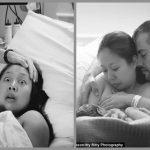 Foto: Reacţia acestei mame imediat după naşterea copilului a impresionat internauţii! Dar, ce a surprins-o pe femeie?