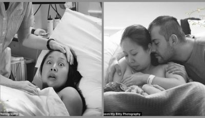 Reacţia acestei mame imediat după naşterea copilului a impresionat internauţii! Dar, ce a surprins-o pe femeie?