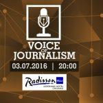 """Foto: Urmărește LIVE cum 13 jurnaliști cântă la evenimentul """"Voice of Journalism 2016"""""""