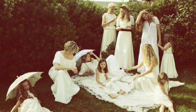 Vera Brejneva într-o poză alături de surori! Seamănă atât de bine