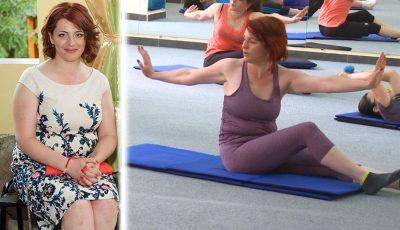 O transformare fabuloasă! În jumate de an a slăbit peste 25 kilograme