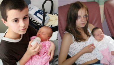 Cei mai tineri părinţi din lume! Mămică la doar 10 ani
