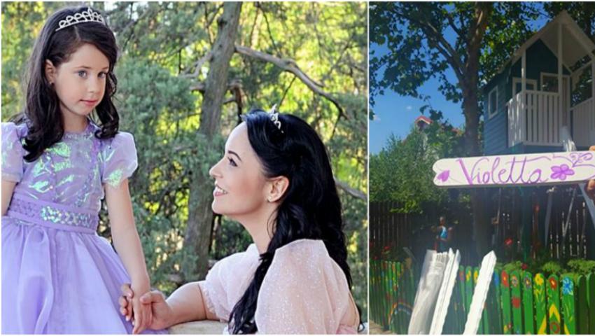 Foto: Surpriza pe care Andreea Marin i-a făcut-o fetiţei sale!