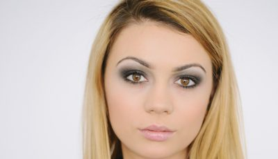 Trucuri de machiaj de la Olga Manciu. Smokey eyes