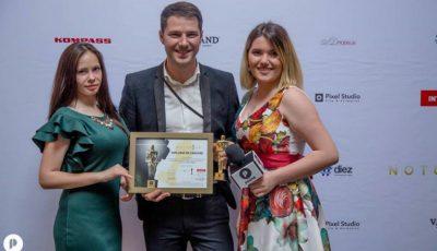 """HD Studio premiat la gala """"Notorium Awards 2016""""! Vezi cu ce premiu a ajuns acasă"""
