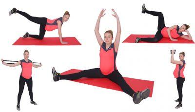 5 exerciții pentru graviduțele care vor să-şi păstreze tonusul muscular!