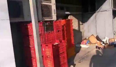 """De groază! Cum este """"păstrată"""" pâinea într-un magazin din Chișinău"""