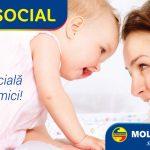 Foto: NOU! Acum cardul de credit de la Moldindconbank poate fi obţinut şi în baza indemnizației pentru copil!