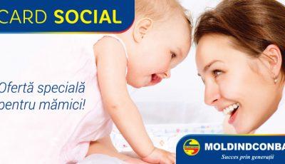 NOU! Acum cardul de credit de la Moldindconbank poate fi obţinut şi în baza indemnizației pentru copil!