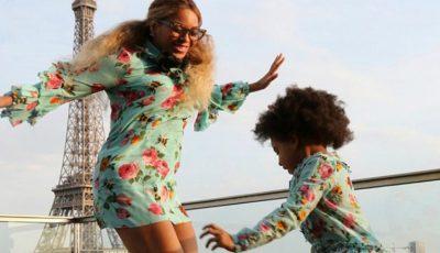 Beyonce și fiica ei, îmbrăcate la fel. Ce bine le stă împreună