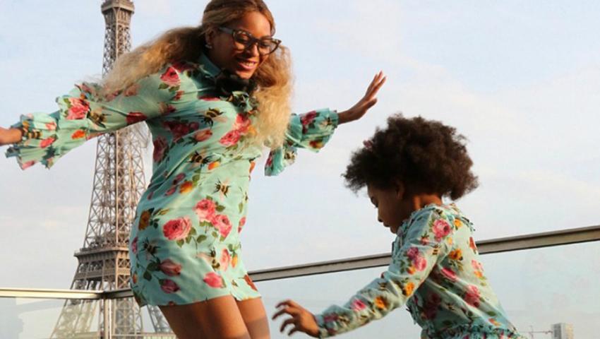 Foto: Beyonce și fiica ei, îmbrăcate la fel. Ce bine le stă împreună