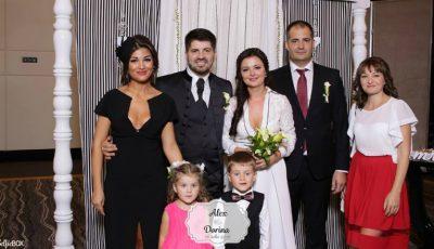 Dorina Cojocaru a purtat 2 ținute la nunta ei!