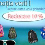 Foto: Cumpără-i copilului tău rechizite școlare și ghiozdan cu 10% reducere!