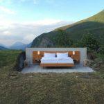 Foto: Hotelul fără pereți. Camera costă 230 de euro!