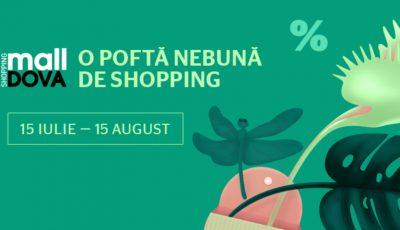 Poftele nebune de cumpărături se împlinesc vara la mall!