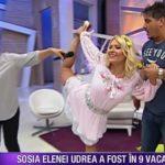 Foto: Dianna Rotaru face acrobație. Iată în ce poziție poate sta