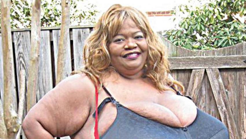 Foto: Femeia cu cei mai mari sâni naturali din lume. Află cât cântăresc!