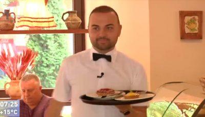 Igor Sîrbu a lucrat chelner ca să-și ducă iubita la mare!