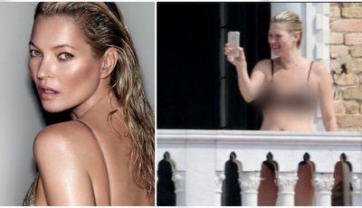 Kate Moss nu mai arată ca și atunci când era model!