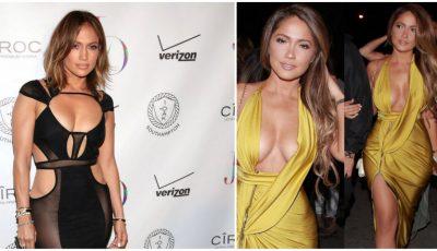 Ea e sosia lui Jennifer Lopez. Cine dintre ele arată mai bine?