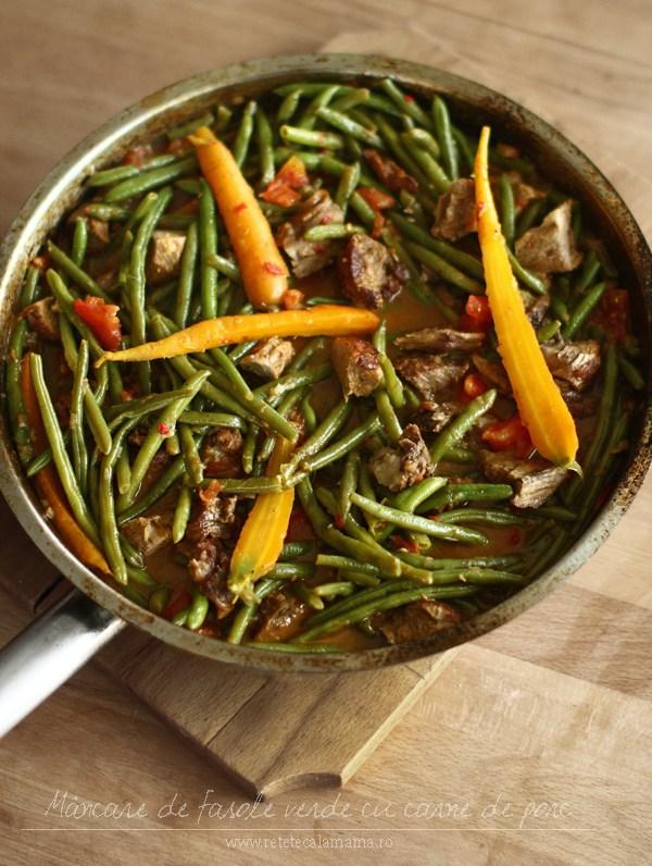 mancare-de-fasole-verde-pastai-cu-carne-de-porc-la-tigaie-retetecalamamaro