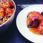 Foto: Rulouri de vinete în sos de roșii