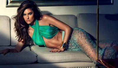Modelul Nadejda Savcova poartă haine de mii de euro de la Alexander Wang, Cavalli și Balmain!