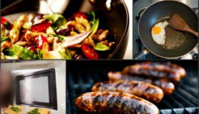 Opt metode de gătit pe care să le eviţi! Sunt toxice pentru organism
