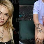 Foto: Yana Rudkovskaya i-a aplicat un tatuaj pe braţ fiului său!