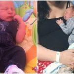 Foto: Un bebeluş cu greutate incredibil de mare la naştere, dar născut pe cale naturală! Cum a evoluat naşterea