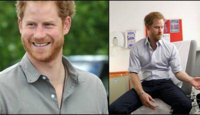 Prinţul Harry şi-a făcut testul de depistare a virusului HIV! Video