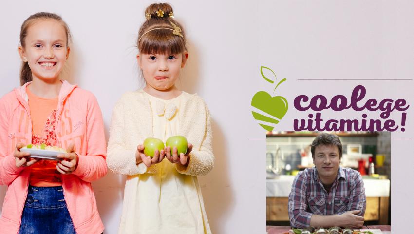 Foto: Jamie Olivier, despre Campania ,,Coolege vitamine!'': ,,O idee genială pentru toţi copiii din Republica Moldova!''