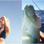 Foto: Fiica Renatei Litvinova îşi etalează silueta în costum de baie pe plajele din Italia!