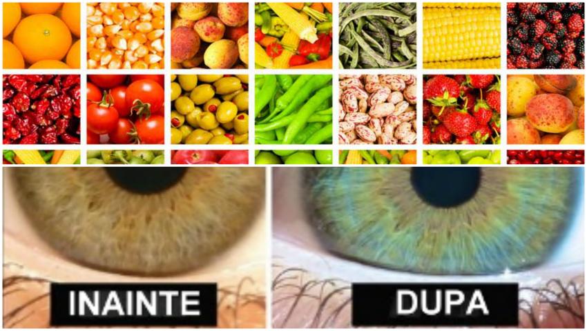 Foto: Dieta care îţi deschide culoarea ochilor!