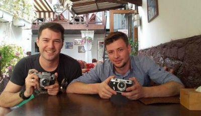 Fotograful Corneliu Blagoslovitu a primit un cadou care l-a lăsat fără cuvinte