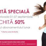Foto: Ofertă specială! Achită 50% din prețul abonamentului lunar!