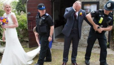 S-au dus la starea civilă să-şi înregistreze căsătoria și au fost arestați!